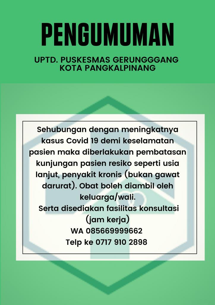 Untuk keselamatan pasien